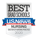 US News & World Report best grad schools 2020 doctor of nursing practice degree