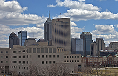 Photo of Indianapolis skyline