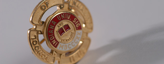 IU School of Nursing pin