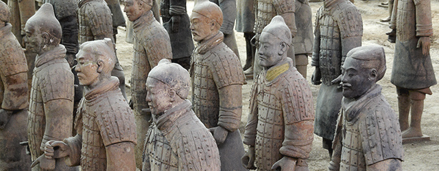 Terracotta Warriors - Licensed under Creative Commons