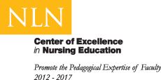 National League of Nursing's Center of Excellence in Nursing Education: Advancing the Science of Nursing Education logo National League of Nursing's Center of Excellence in Nursing Education: Promoting the Pedagogical Expertise of Faculty logo