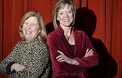 Portrait of Drs. Joan Haase and Sheri Robb